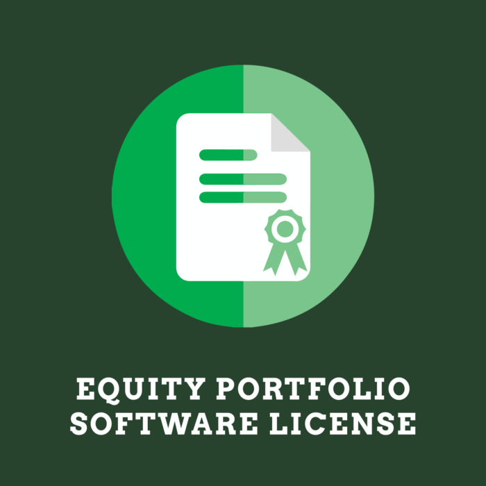 Equity Portfolio Software License MAIN Product Image